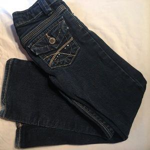 Gap Denim Boot Cut Jeans Slim Adjustable Waistband
